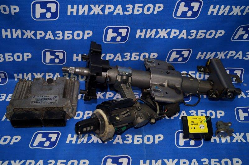 Замок зажигания (комплект) Chevrolet Captiva C100 3.2 10HMC 2008 (б/у)
