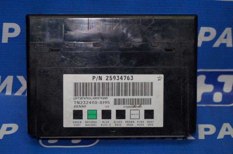 Блок комфорта Chevrolet Captiva C100 3.2 10HMC 2008 (б/у)