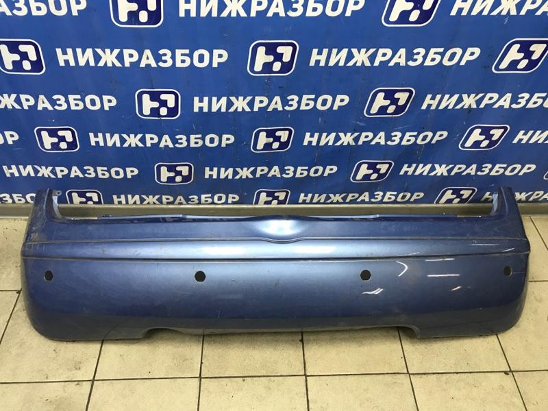 Бампер Nissan Micra K12E задний (б/у)