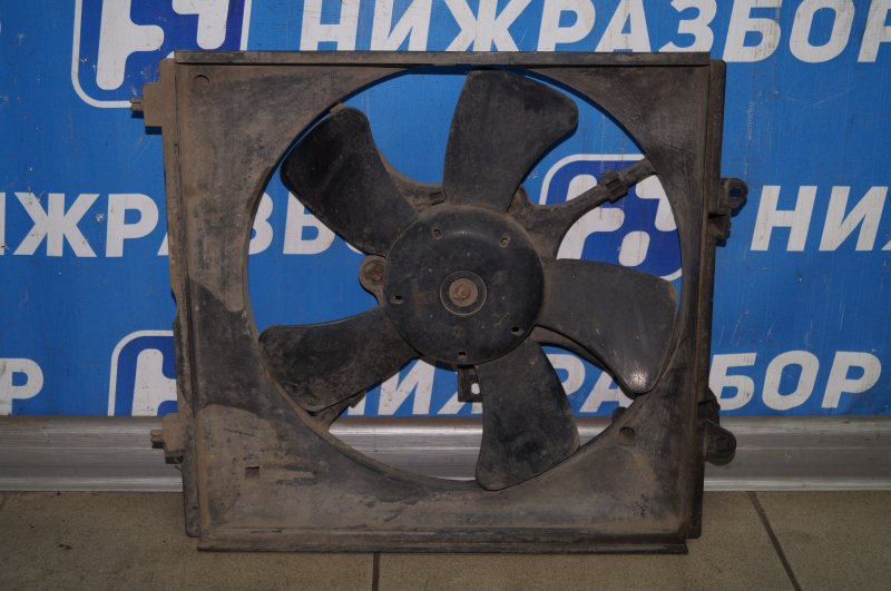 Вентилятор радиатора Mitsubishi Lancer 9 CS/CLASSIC 2.0 (4G63) (б/у)