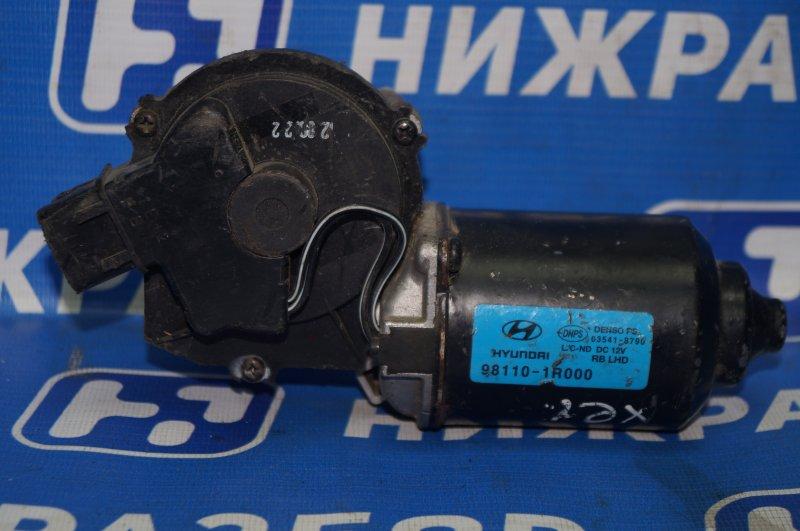 Моторчик стеклоочистителя Hyundai Solaris 1 2010 передний (б/у)