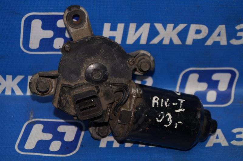Моторчик стеклоочистителя Kia Rio 1 DC 2001 передний (б/у)