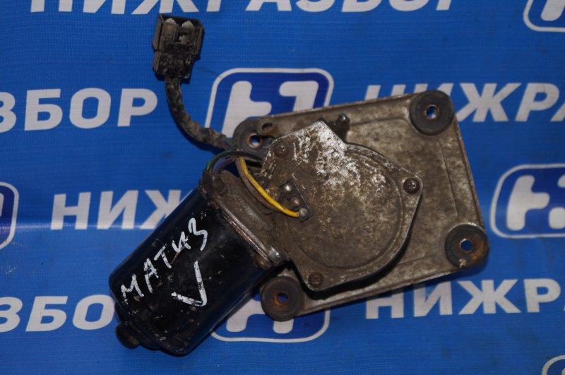 Моторчик стеклоочистителя Daewoo Matiz M100/M150 1998 передний (б/у)