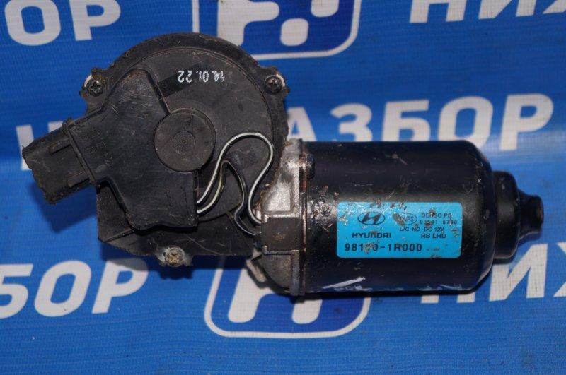 Моторчик стеклоочистителя Kia Rio 3 2011 передний (б/у)