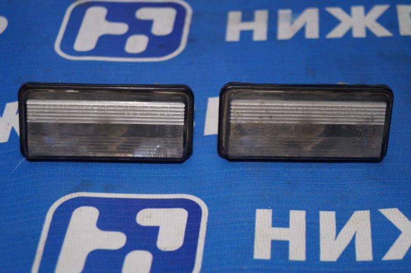 Фонарь подсветки номера Toyota Land Cruiser 200 2008> задний (б/у)