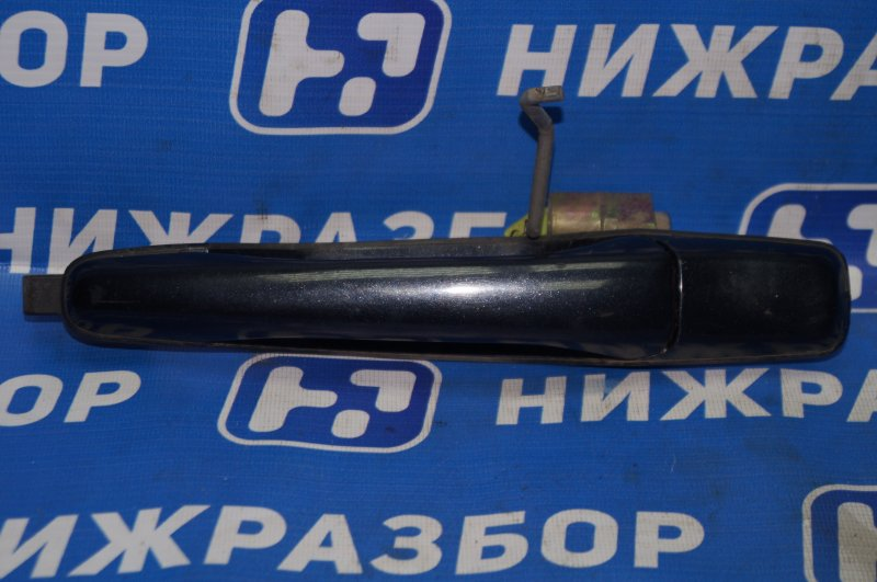 Ручка двери наружная Mitsubishi Lancer 9 CS/CLASSIC 2.0 (4G63) задняя левая (б/у)