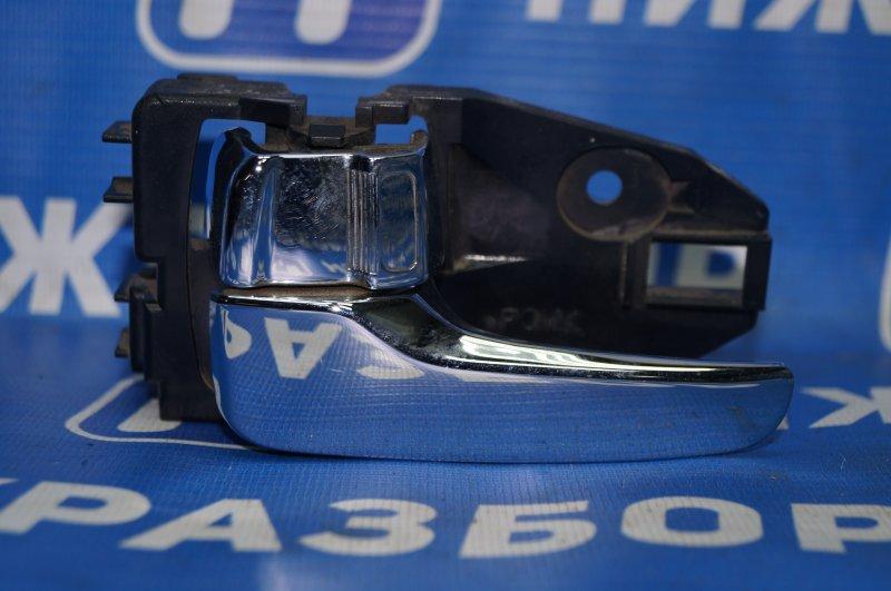 Ручка двери внутренняя Mitsubishi Lancer 9 CS/CLASSIC 2.0 (4G63) задняя левая (б/у)