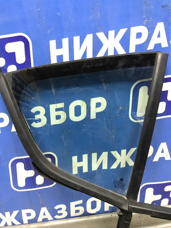 Форточка двери Skoda Octavia A7 задняя правая (б/у)