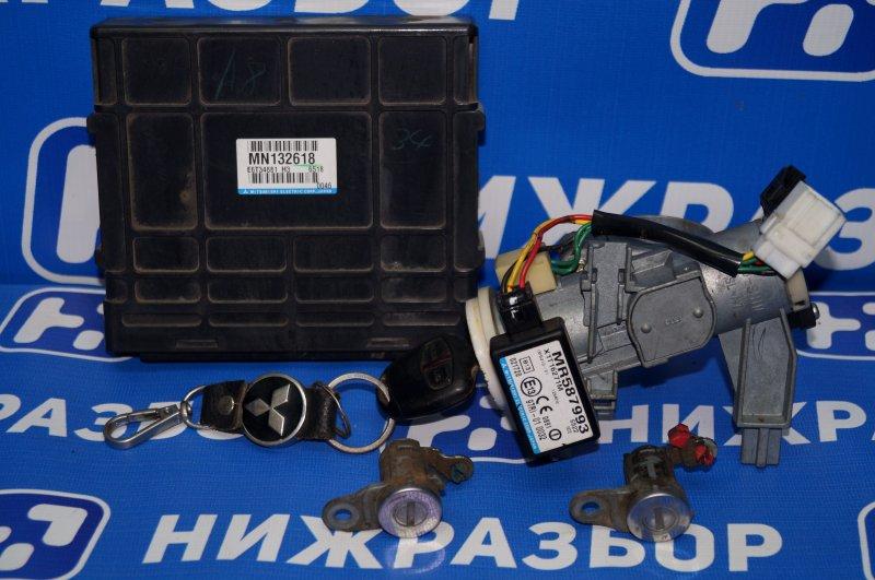 Замок зажигания (комплект) Mitsubishi Lancer 9 CS/CLASSIC 2.0 (4G63) (б/у)
