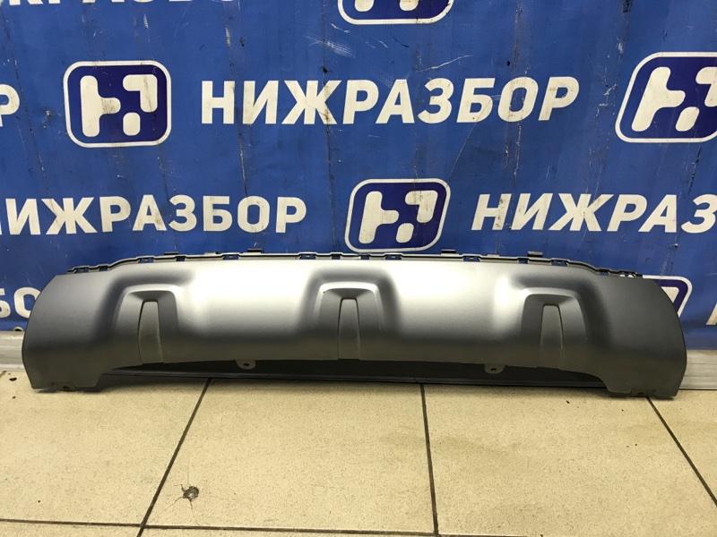 Накладка бампера Bmw X3 G01 задняя (б/у)