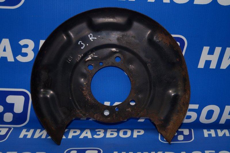 Пыльник тормозного диска Hyundai Elantra MD 1.6 2011 задний правый (б/у)