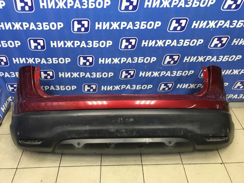 Бампер Nissan Qashqai J11 задний (б/у)