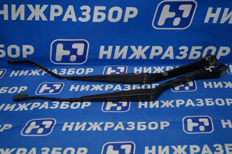 Поводок стеклоочистителя к-кт Chery Tiggo T11 2.4 4G64S4M 2007 передний (б/у)
