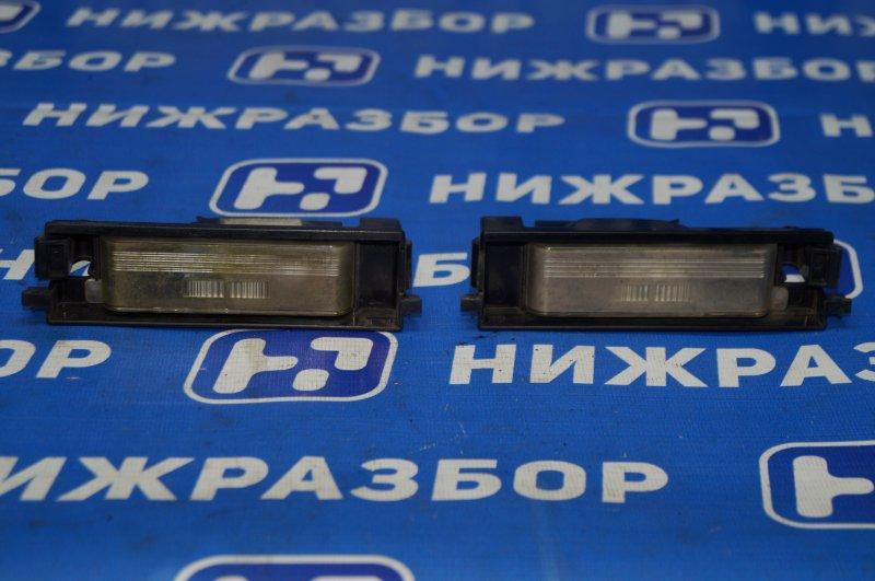 Фонарь подсветки номера Chery Tiggo T11 2.4 4G64S4M 2007 задний (б/у)