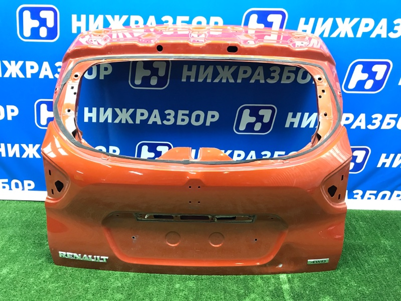 Крышка багажника Renault Kaptur 2016> задняя (б/у)