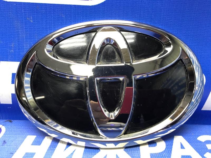 Значок (эмблема) Toyota Land Cruiser Prado 150 задний (б/у)