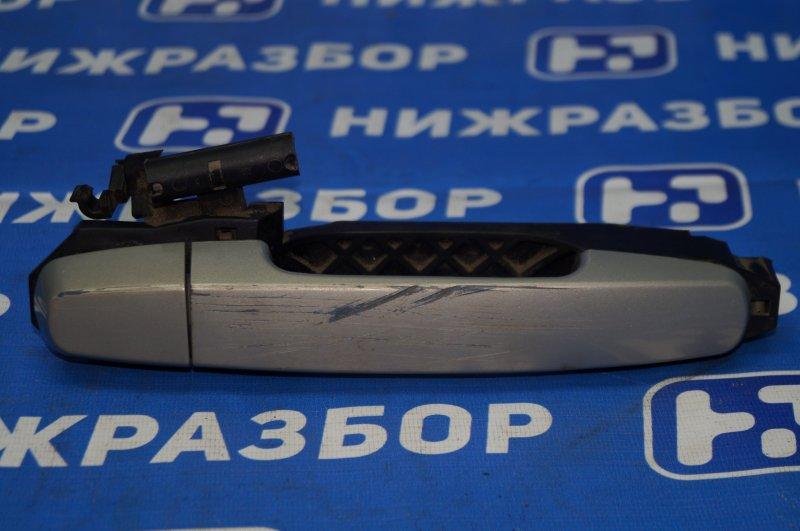 Ручка двери наружная Chery Tiggo T11 1.8 SQR481FC 2009 задняя правая (б/у)