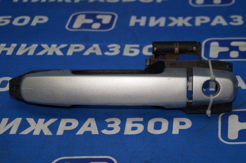 Ручка двери наружная Chery Tiggo (T11) 1.8 SQR481FC 2009 передняя левая (б/у)