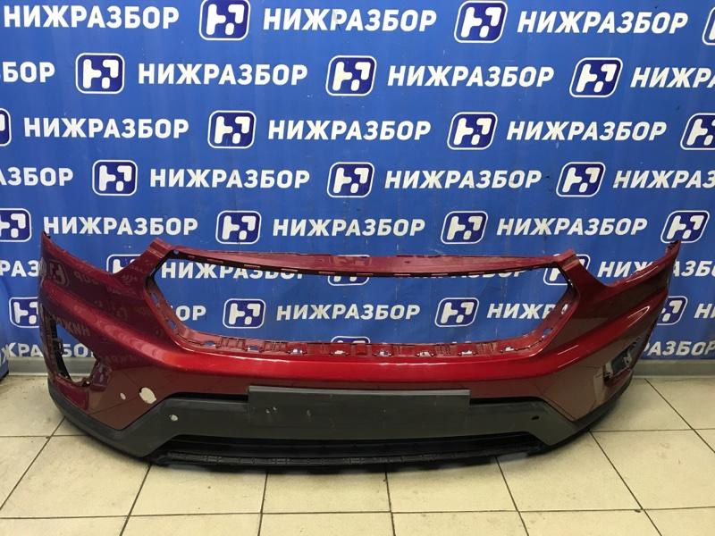 Бампер Hyundai Creta 2016> передний (б/у)