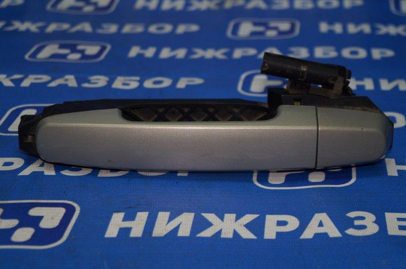 Ручка двери наружная Chery Tiggo (T11) 1.8 SQR481FC 2009 задняя левая (б/у)