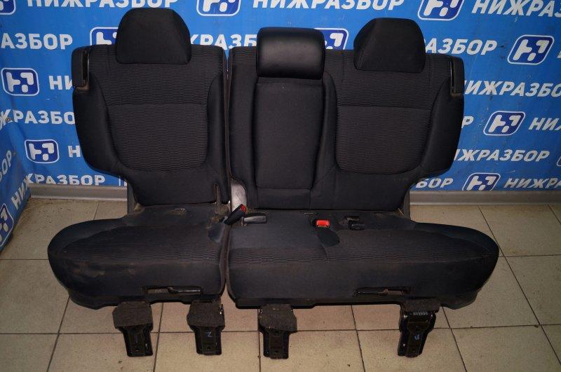 Сиденье Mitsubishi Pajero Sport 2 KH 2.5 TDI 2012 заднее (б/у)