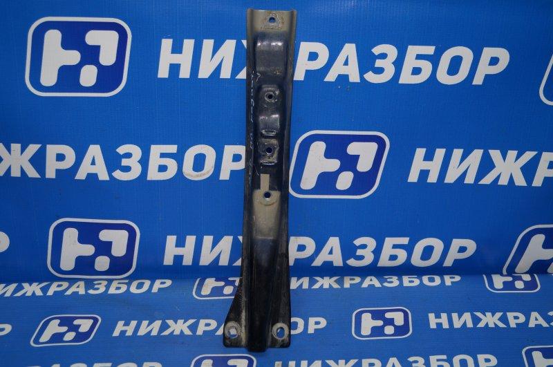 Кронштейн замка капота Mitsubishi Pajero Sport 2 KH 2.5 TDI 2012 передний (б/у)
