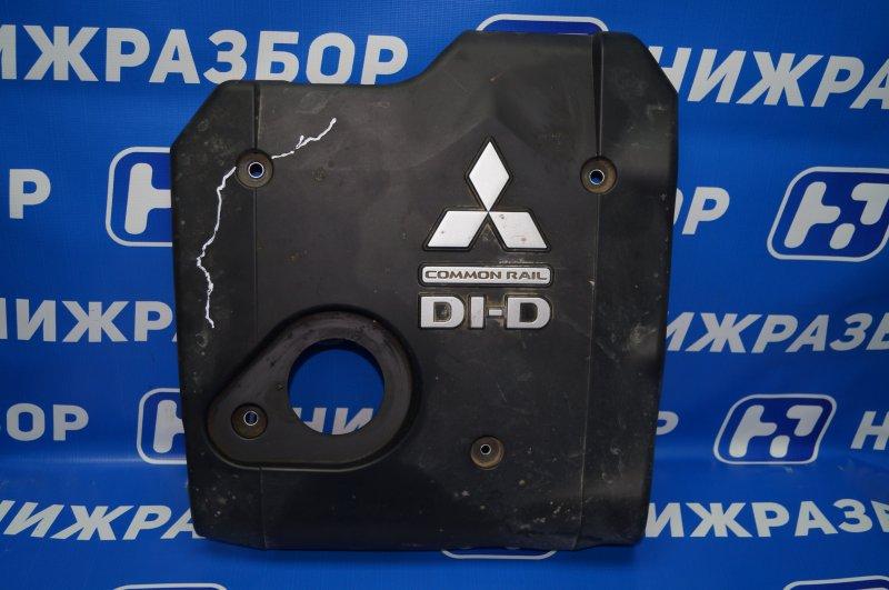 Накладка двигателя декоративная Mitsubishi Pajero Sport 2 KH 2.5 TDI 2012 (б/у)