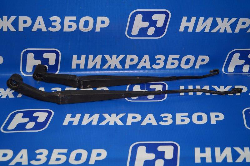 Поводок стеклоочистителя к-кт Mitsubishi Pajero Sport 2 KH 2.5 TDI 2012 передний (б/у)