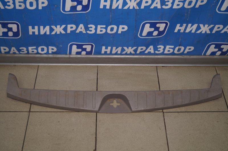Обшивка багажника Mitsubishi Pajero Sport 2 KH 2.5 TDI 2012 (б/у)