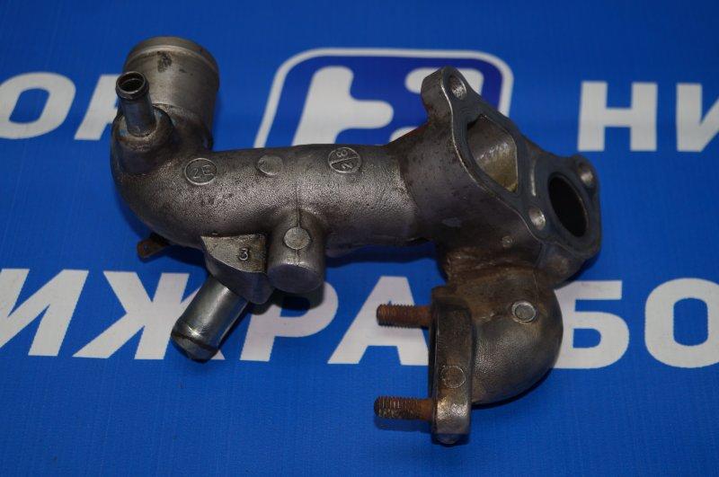 Фланец двигателя системы охлаждения Mitsubishi Pajero Sport 2 KH 2.5 TDI 2012 (б/у)