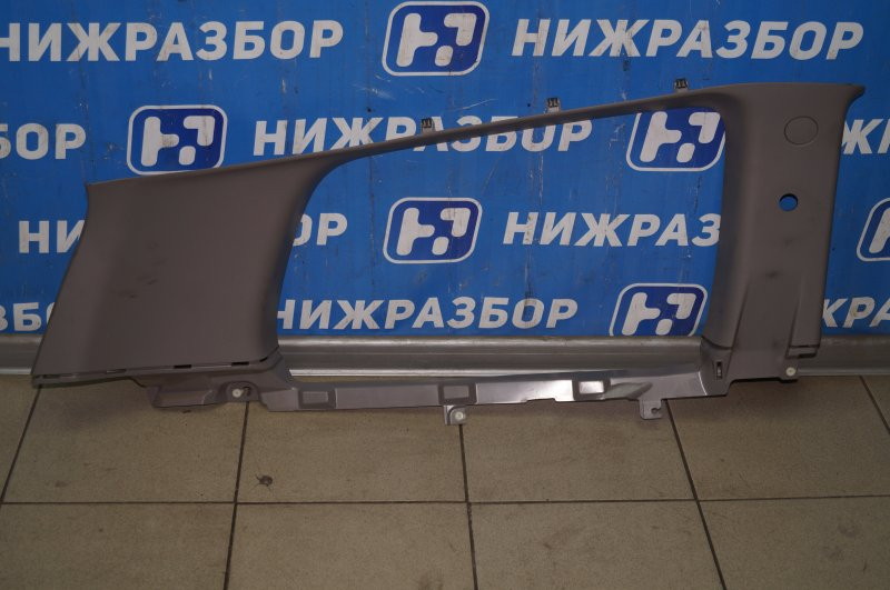 Обшивка багажника Mitsubishi Pajero Sport 2 KH 2.5 TDI 2012 задняя левая верхняя (б/у)