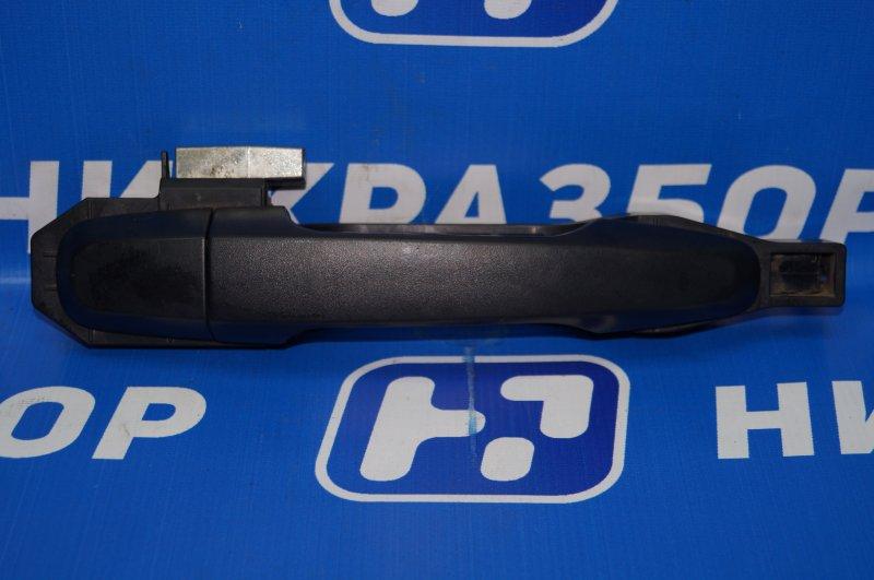 Ручка двери наружная Mitsubishi Pajero Sport 2 KH 2.5 TDI 2012 задняя правая (б/у)