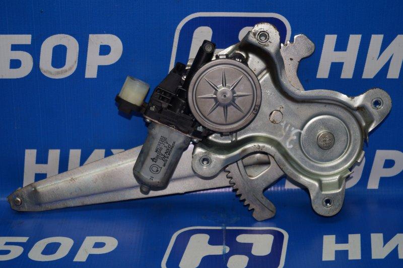 Стеклоподъемник эл. Mitsubishi Pajero Sport 2 KH 2.5 TDI 2012 задний правый (б/у)