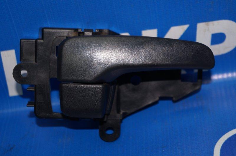 Ручка двери внутренняя Mitsubishi Pajero Sport 2 KH 2.5 TDI 2012 задняя правая (б/у)
