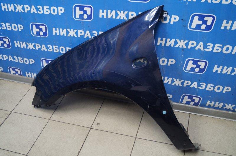 Крыло Mitsubishi Pajero Sport 2 KH 2.5 TDI 2012 переднее левое (б/у)