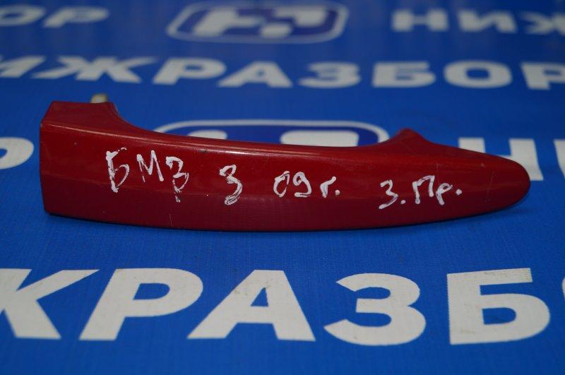 Ручка двери наружная Bmw 3-Серия 2005 задняя правая (б/у)