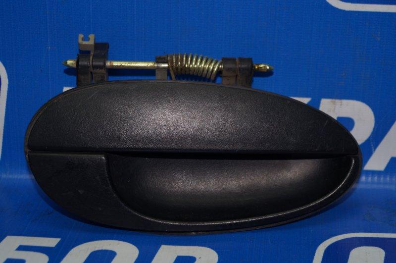 Ручка двери наружная Daewoo Matiz M100/M150 1998 задняя правая (б/у)