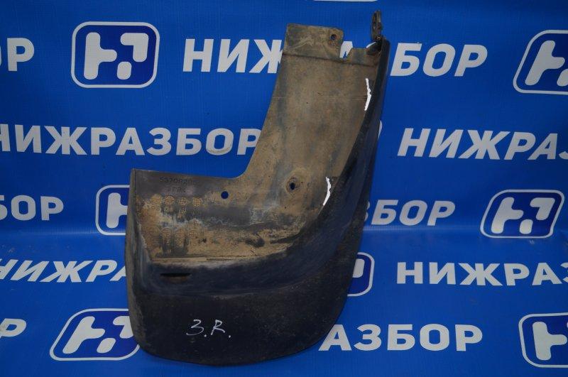 Брызговик Mitsubishi Pajero Sport 2 KH 2.5 TDI 2012 задний правый (б/у)