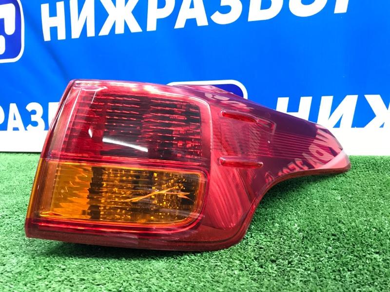 Фонарь наружный Toyota Rav 4 A40 задний правый (б/у)