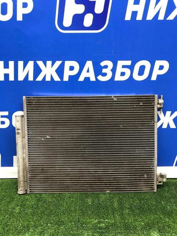 Радиатор кондиционера (конденсер) Renault Logan 2 2013 передний (б/у)