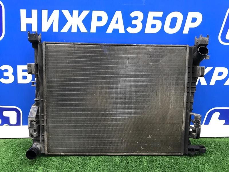 Радиатор основной Renault Logan 2 2013 (б/у)