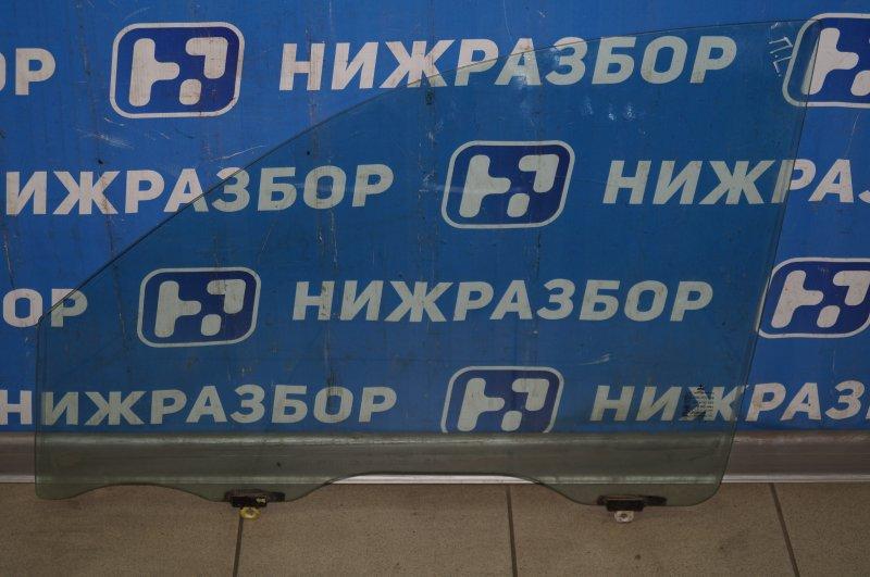 Стекло двери Mitsubishi Pajero Sport 2 KH 2.5 TDI 2012 переднее левое (б/у)