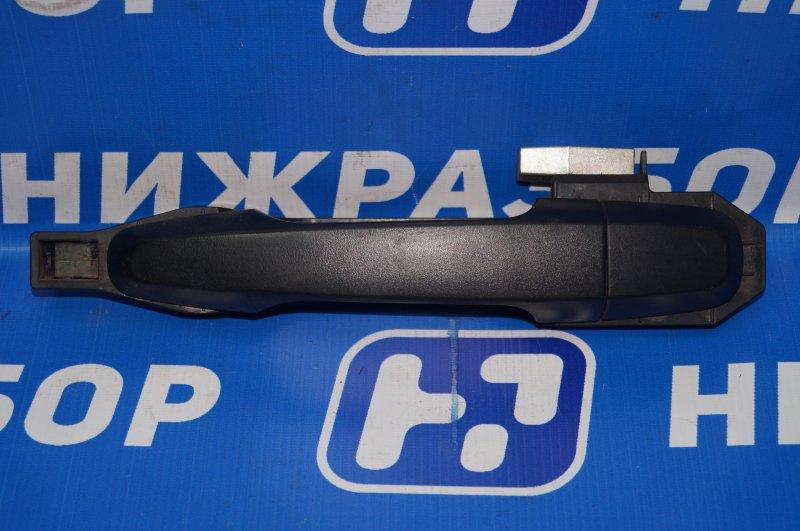 Ручка двери наружная Mitsubishi Pajero Sport 2 KH 2.5 TDI 2012 задняя левая (б/у)