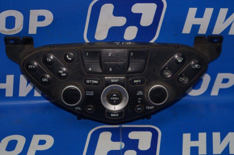 Блок управления климатической установкой Nissan Primera P12 2002 (б/у)