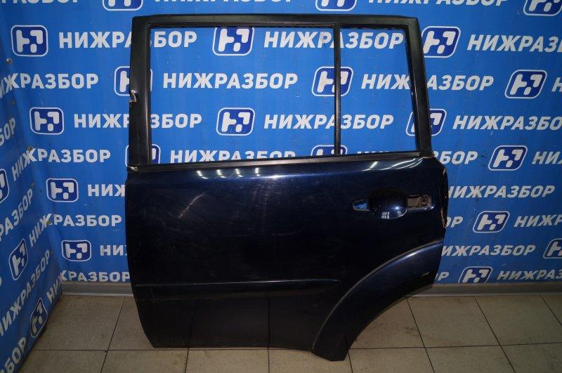 Дверь Mitsubishi Pajero Sport 2 KH 2.5 TDI 2012 задняя левая (б/у)
