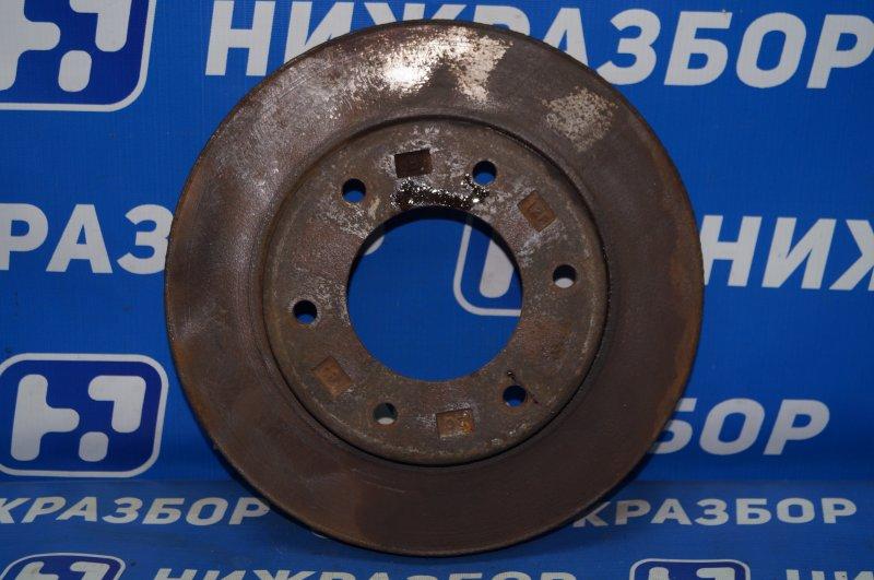 Диск тормозной Mitsubishi Pajero Sport 2 KH 2.5 TDI 2012 передний (б/у)