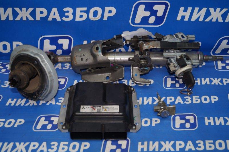 Замок зажигания (комплект) Mitsubishi Pajero Sport 2 KH 2.5 TDI 2012 (б/у)