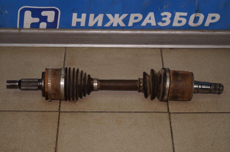 Привод Mitsubishi Pajero Sport 2 KH 2.5 TDI 2012 передний левый (б/у)