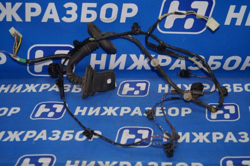 Проводка двери Mitsubishi Pajero Sport 2 KH 2.5 TDI 2012 задняя левая (б/у)