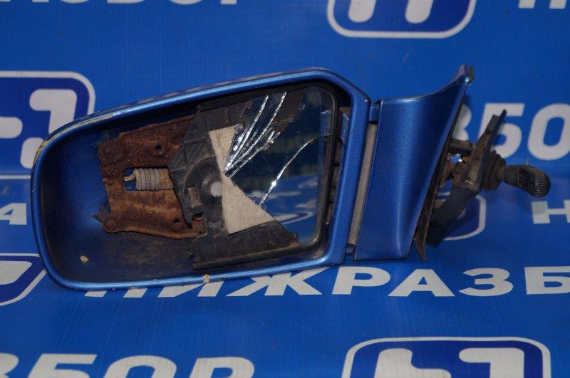 Зеркало механическое Mazda 323 BG 1989 левое (б/у)